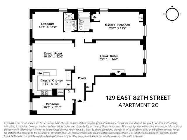 129 East 82nd Street, Unit 2C Manhattan, NY 10028