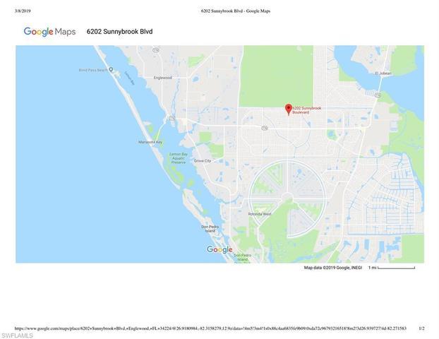 Englewood Florida Map