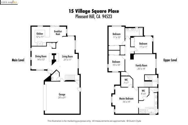 15 Village Square Place Pleasant Hill, CA 94523