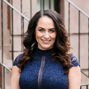 Lindsay Hymson,                       Agent in NYC - Compass