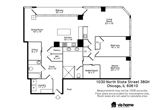 1030 North State Street, Unit 38GH Chicago, IL 60610