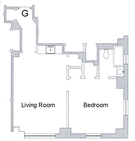 440 West 34th Street, Unit 12G Image #1