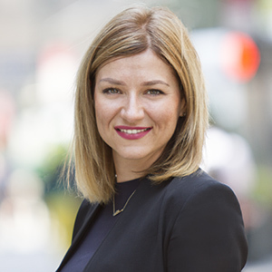 Irina Karapici,                     Agent in NYC - Compass