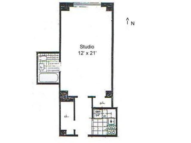 235 West 102nd Street, Unit 14A Image #1