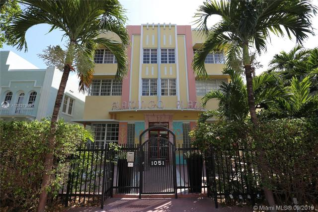 1051 Meridian Avenue, Unit 1P Miami Beach, FL 33139