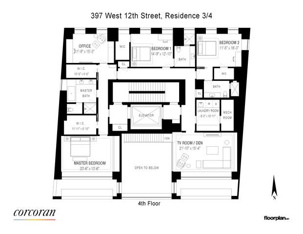 397 West 12th Street, Unit 3/4 Manhattan, NY 10014