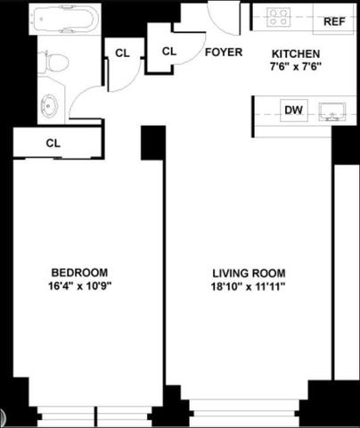 380 Rector Place, Unit 8G Image #1