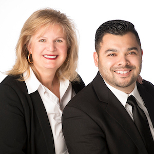 Sandy Sicsko and Joe Borromeo Team