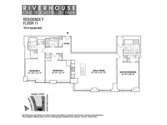 2 River Terrace, Unit 11F Image #1