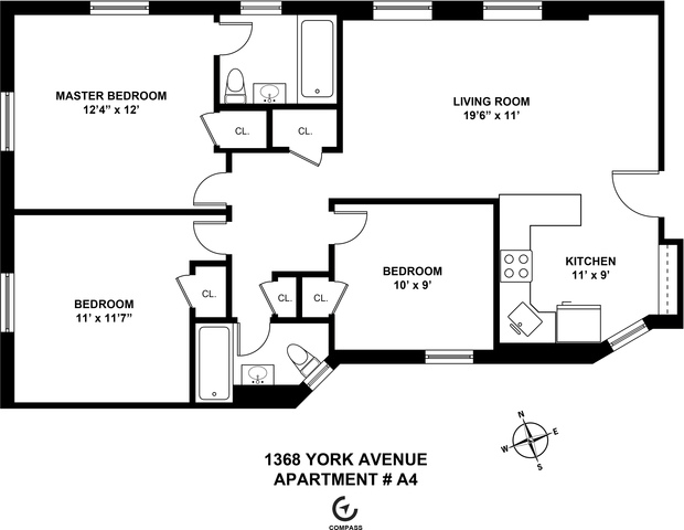 500 East 73rd Street, Unit A4 Image #1