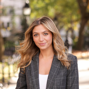 Gabriella Michin,                     Agent in NYC - Compass