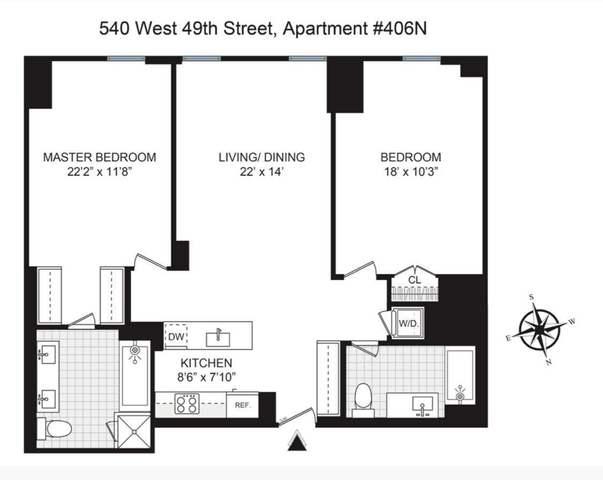 540 West 49th Street Clinton New York NY 10019
